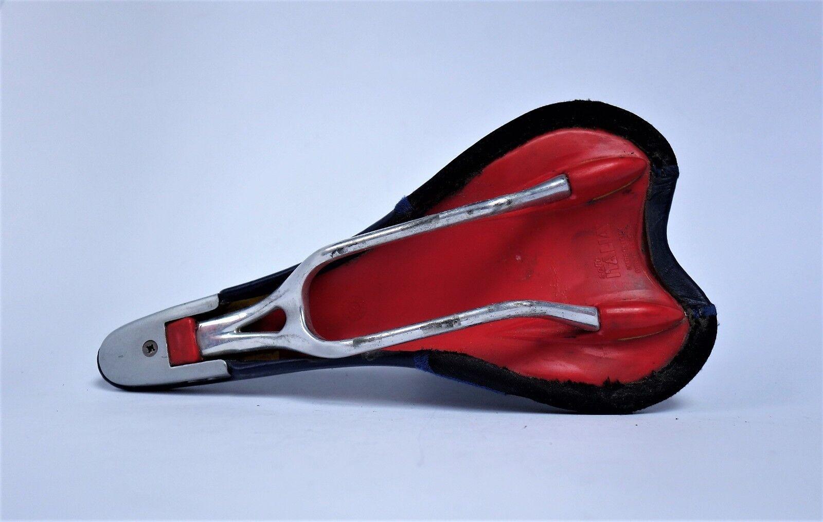 Saddle Selle Italia Italia Italia Genuine Gel titan rails  topeak negro rojo 319878