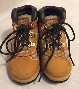 Timberland Toddler Brown Ankle Boots Size 10 Kids' Clothing, Shoes & Accs Clothing, Shoes & Accessories