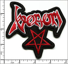 20 Pcs Embroidered Iron/Sew on patches Venom Metal Music AP056vV