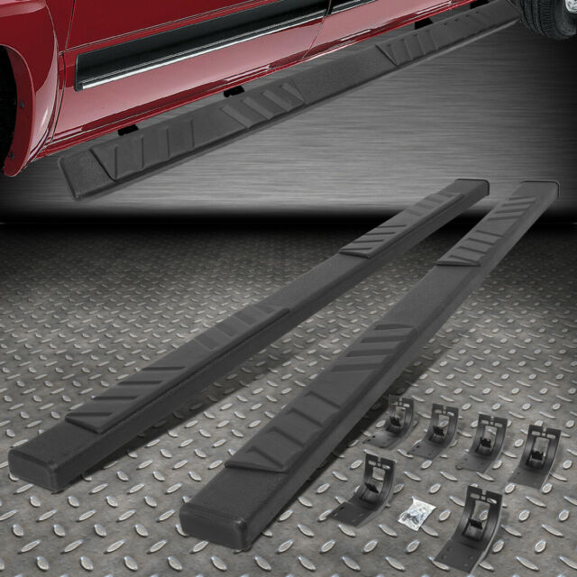 3 Black Coated Side Step Nerf Bar Running Board Replacement for Dodge Ram 1500 2500 3500 Crew Cab 4-Door 09-20