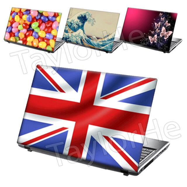 """17"""" Laptop Skin Sticker Decals Beautiful Designs"""