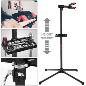 Bicycle-Adjustable-Folding-Repair-Home-Mechanic-Maintenance-Work-Stand-Rack-DCUK