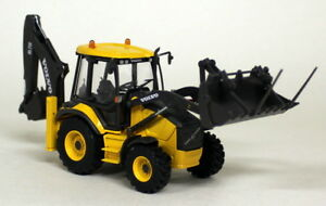 Motorart-1-50-Scale-Volvo-BL71B-Backhoe-Excavator-Diecast-model-Construction