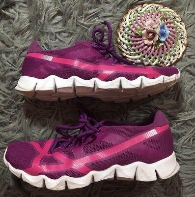 Damen Puma Axel pink lila Cross Training Athletisch Laufschuhe Größe 9.5 | eBay
