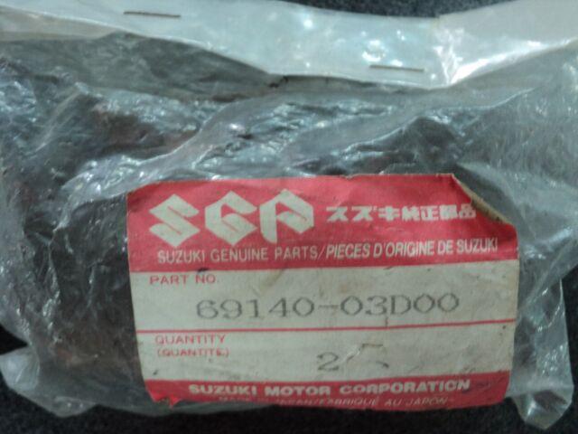 GENUINE SUZUKI BRAKE PAD SET REAR TS125 69140-03D00