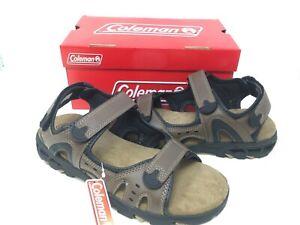 NEW-Coleman-Men-039-s-Wave-Rider-Sandals-Brown-77647-189A-a