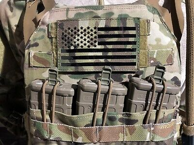 Large US IR Flag morale Patch USSF CAG DELTA RANGERS american Army Infrared
