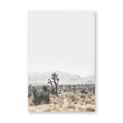 Almudena® Desert Posters And Prints Beach Landscape Wall Art Canvas Painting