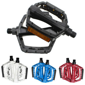 DX-Style-9-16-Alloy-Mountain-Bike-Bicycle-BMX-Mtb-Flat-Platform-Anti-Slip-Pedals