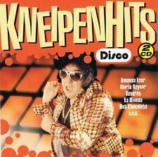 KNEIPEN HITS -DISCO 2CDs Neu Spargo Rockwell Princess Hazell Dean Boys Town Gang