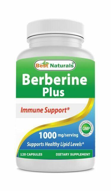 Best Naturals Berberine Plus 1000mg Capsules 120 Capsules For Sale Online Ebay