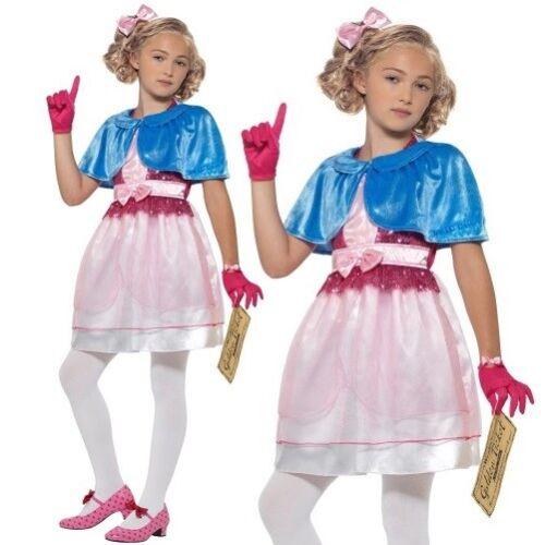 Girls Roald Dahl Veruca Salt Fancy Dress Costume Book Day Outfit by Smiffys New