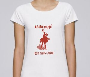 T-SHIRT-F-serigraphie-LA-BEAUTE-EST-DANS-LA-RUE-affiche-MAI-68-1968