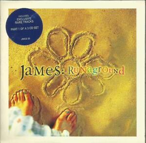 James - Runaground 1998 Mercury CD single in card picture sleeve
