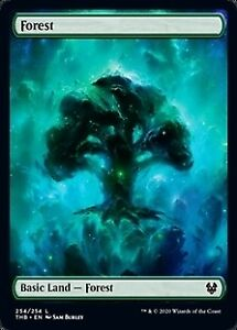 Theros Beyond Death MTG Magic the Gathering NM 4x FULL ART FOREST 254