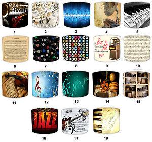 Musique-Instruments-Piano-Abat-jour-Qui-Convient-Papier-peint-Musical