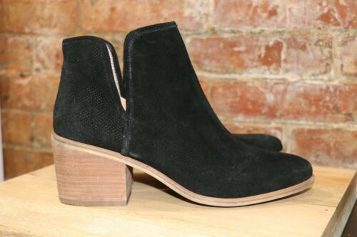 BP Nordstrom Black Suede Ankle Boots Booties Women