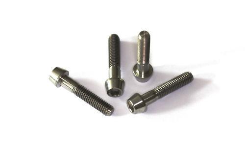 Titanium screws  M6 x 35  DIN 912  Grade 5  konisch 5 x Titan Schrauben