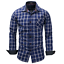 New-Fashion-Men-039-s-Slim-Fit-Shirt-Cotton-Long-Sleeve-Shirts-Casual-Shirt-Tops thumbnail 14