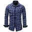 New-Fashion-Men-039-s-Slim-Fit-Shirt-Cotton-Long-Sleeve-Shirts-Casual-Shirt-Tops thumbnail 14
