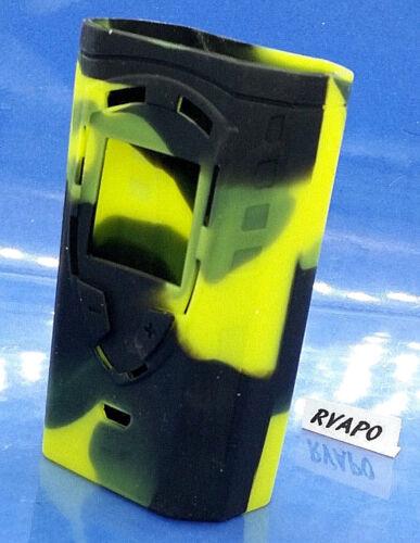 smoktech coque étuis silicone SMOK ProColor 225W TC black//vert