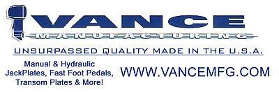 Vance 5.00 Inch Length 1//2 inch diameter Jack Plate Stainless Steel Bolt Kit