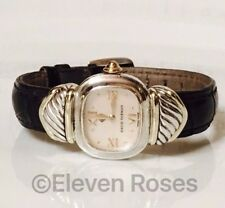 david yurman mother of pearl capris cable watch 925 sterling silver 585 14k gold