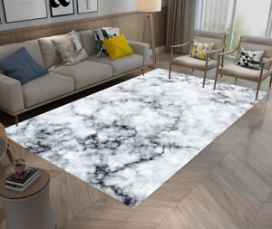Image Is Loading Abstract Marble Texture Bedroom Soft Carpet Anti Skid