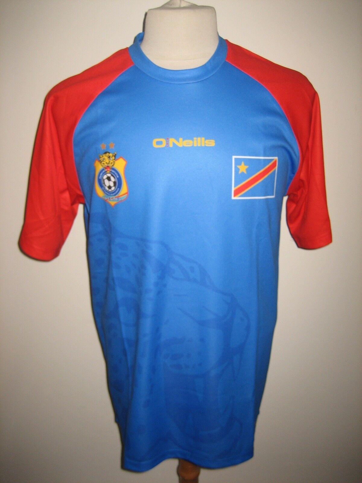Congo DR home football shirt soccer jersey maillot trikot camiseta Zaire Talla L