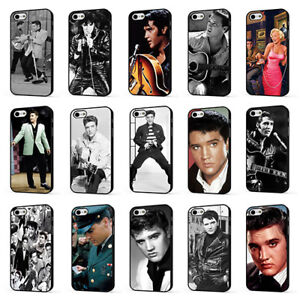 best loved 42123 73ce0 Details about ELVIS PRESLEY THE KING ROCK N ROLL PHONE CASE COVER for  iPHONE 4 5 6 7 8 X