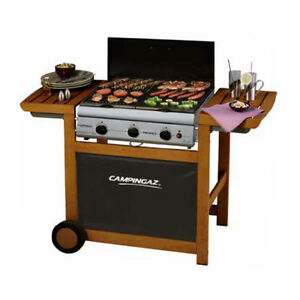 Barbecue-a-gas-Campingaz-Adelaide-3-Woody-in-legno-a-3-fornelli-grill-bbq