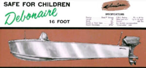 1955-57  Classic Toy for Classic Car/Truck 16ft Alum Boat