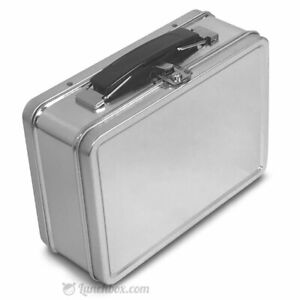 Small Plain Metal Lunch Box - XS Snack / Our Smallest Lunchbox / Blank Lunchpail