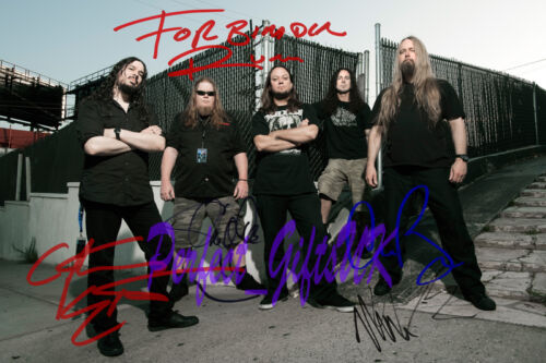 FORBIDDEN BAND SIGNED AUTOGRAPHED 10x8 REPRO PHOTO PRINT