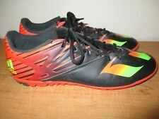 e54d84ed8d1 adidas Men s Messi Soccer Cleats SZ 11.5 Black Red Green SGC 753002 - Fast