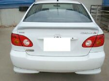 FITS TOYOTA COROLLA 2003-2008 LIP STYLE BOLT ON SPOILER PAINTED (P)