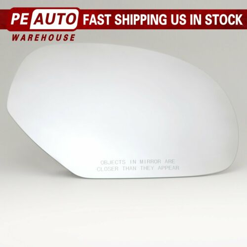 Mirror Glass Full Adhesive For 2007-2013 GMC Chevy Cadillac Right Passenger Side