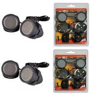 2 Pairs Of Xxx Model 500w Super High Frequency Mini Car Tweeters