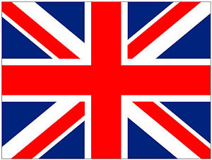 """Union Jack Flag Round ICING Cake Toppers 4CM 1.5/"""" x 30 UK GREAT BRITAIN"""
