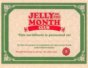 National-Lampoon-039-s-Christmas-Vacation-gt-Jelly-Of-The-Month-Club-Certificate