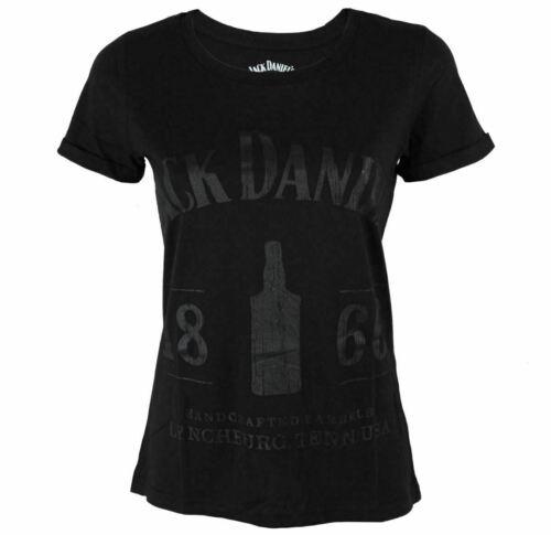 TSJDS Damen T-Shirt Jack Daniels Black