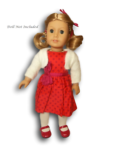 American-Girl-Maryellen-039-s-Christmas-Party-Outfit-for-18-034-Doll-Box-Imperfect-NEW