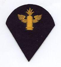 Original Kriegsmarine Ärmelabzeichen Mannschaften Marineartillerielaufbahn WW2