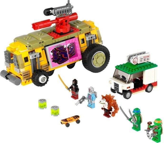 LEGO Teenage Mutant Ninja Turtles - The Shellraiser Street Chase MIB