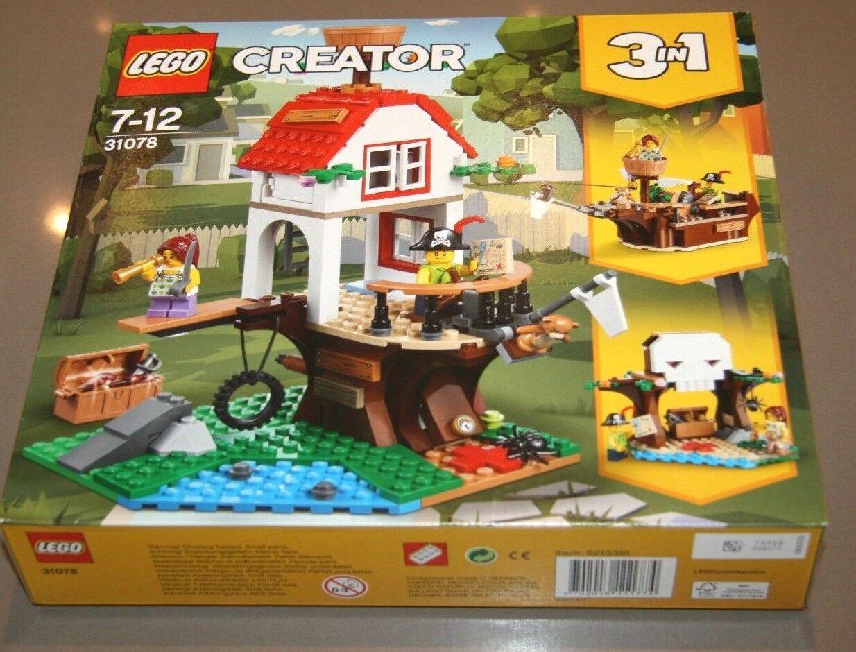 Lego 31078 Creator Tree House Trésors Playset Playset Playset 1 en 3-Maquette NEUF fb8c15