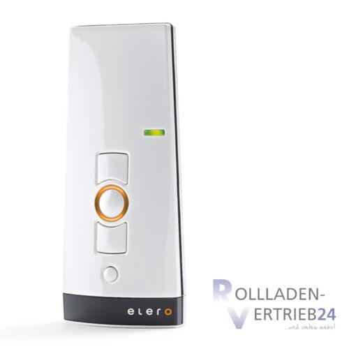 Elero lumerotel 2 Funk télécommandes 1 Canaux Télécommande volet roulant blanc