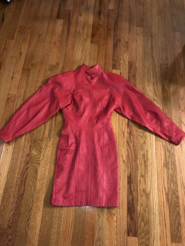 Michael Hoban North Beach Leather Womens Raspberry
