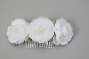 """Impartial (073) Haargesteck Coiffe Communion Fleurs Fille Mariage Communion Bijoux-ck """" afficher Le Titre D'origine Suppression De L'Obstruction"""