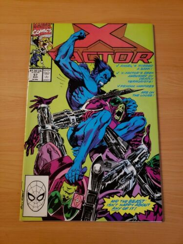 1990, Marvel Comics X-Factor #57 Direct Market Edition ~ NEAR MINT NM ~