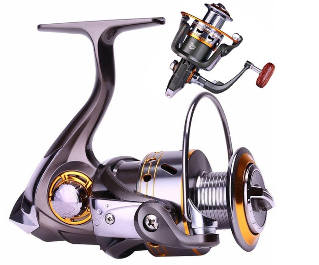13BB - DK6000 Spinning Smooth Fishing Reel Fresh Salt Water Reel Left Right